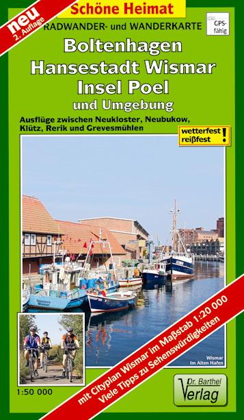 Boltenhagen Ostsee Karte.Boltenhagen Hansestadt Wismar Insel Poel Und Umgebung